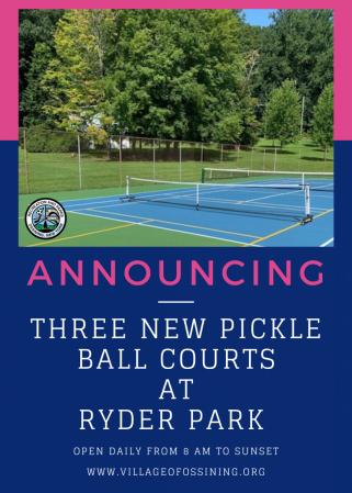 Ryder Pickleball Courts