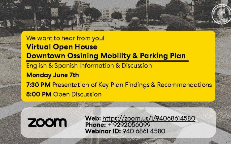 open house flyer english